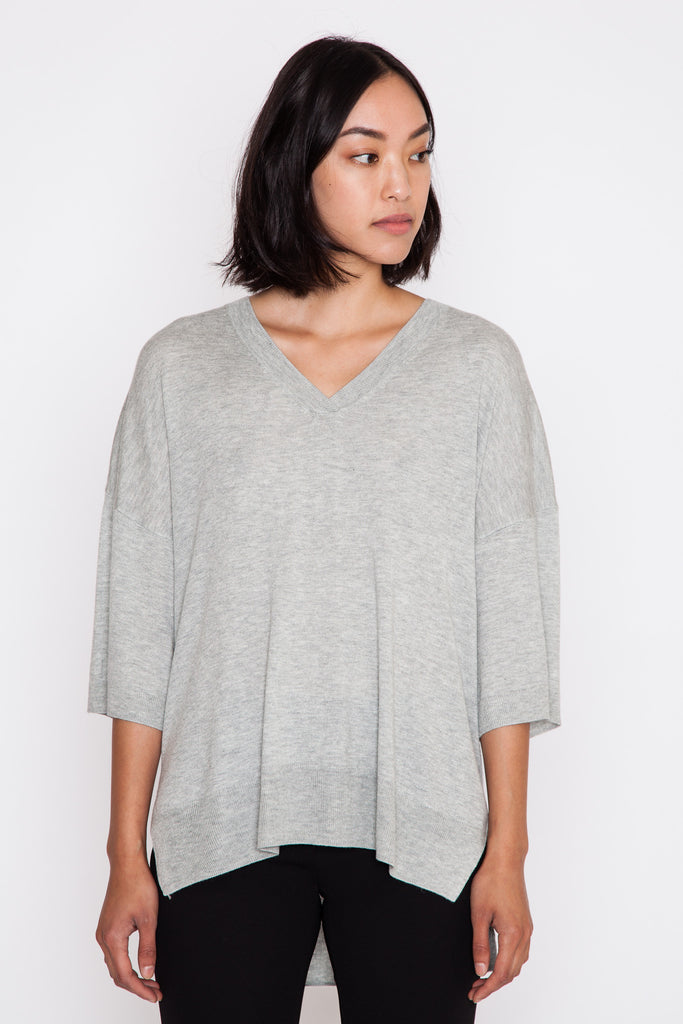 Lubee Knit V-Neck