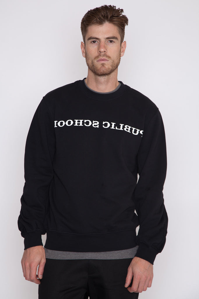 Stoma Ruched Sleeved Pullover
