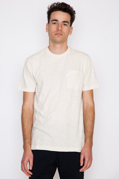 Eco Loose Slub S/S Pocket Tee