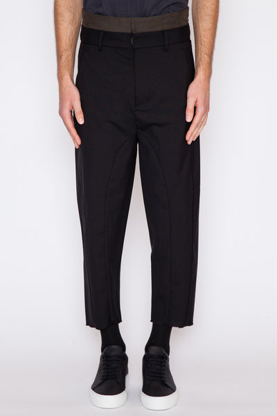 Erc Double Waistband Trouser