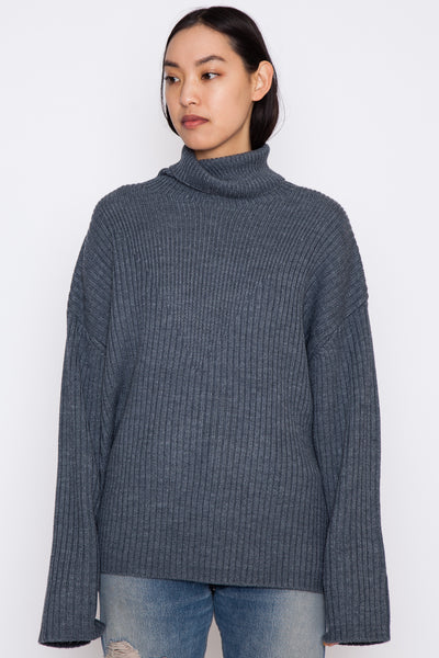 Grey Serat Sweater