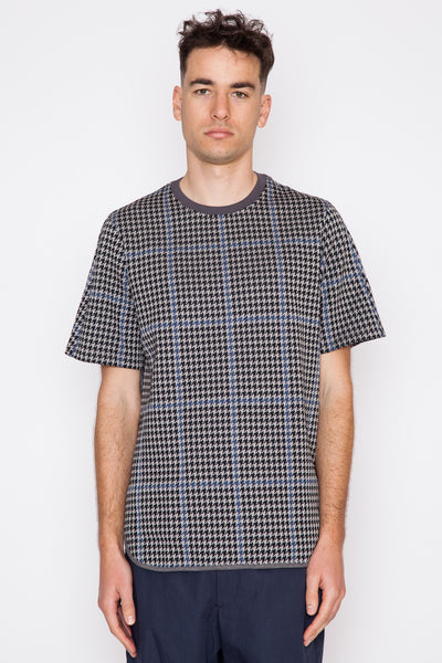 Houndstooth S/S Top