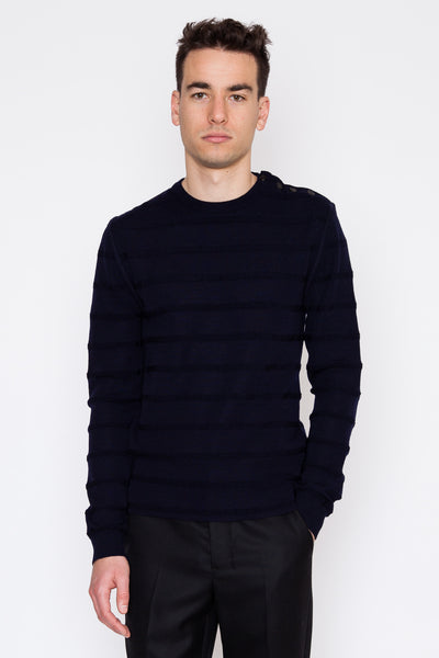 Virgin Wool Fisherman Sweater