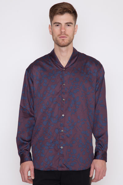 Flower Print Night Shirt