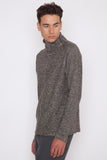 Knitted Linen Turtleneck