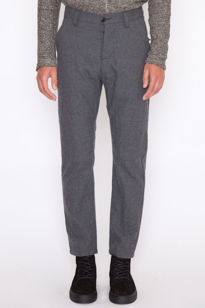 Wool Flannel Utility Pant