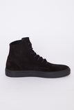 Waxed Suede Service High Top