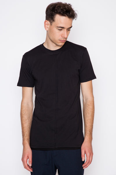 Coal Tegan Hem Detail T-Shirt