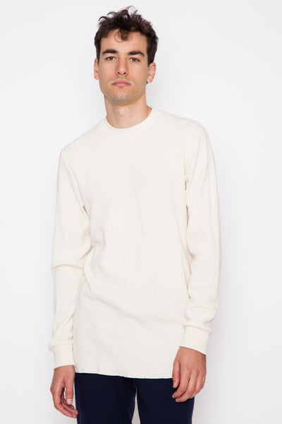 Eco L/S Distressed Waffle Thermal