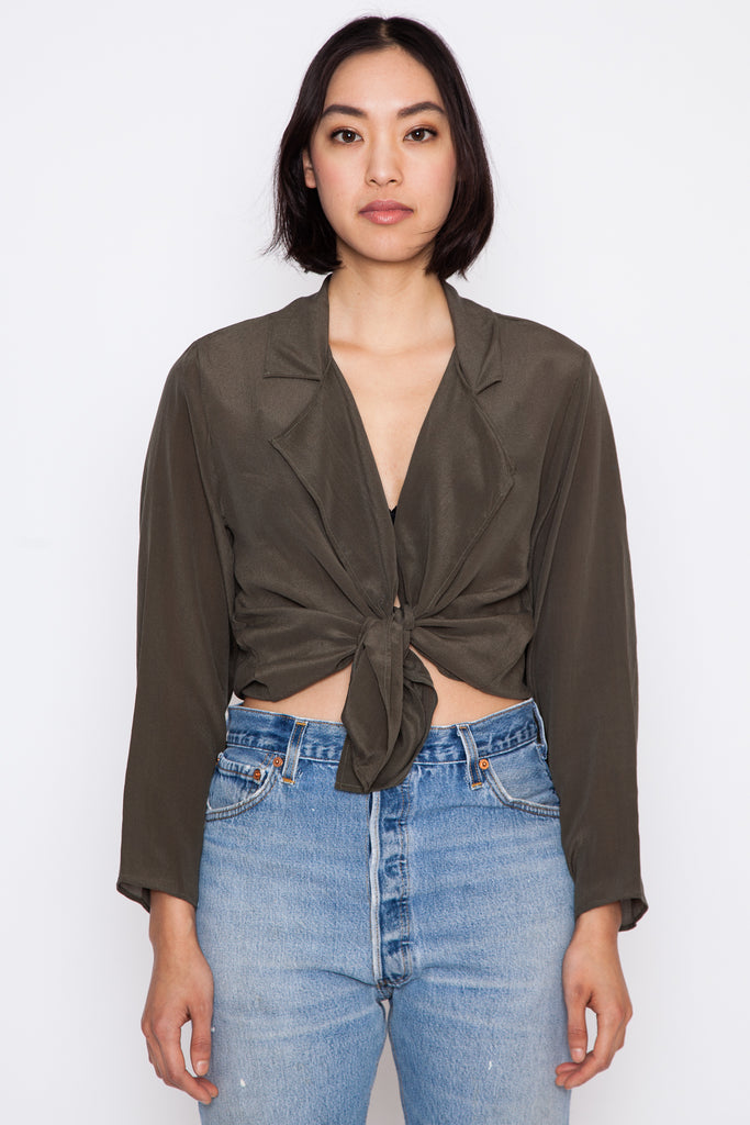 Olive Goff Top