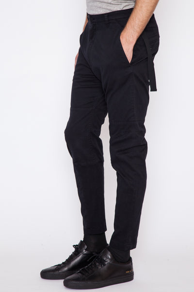 Lafer Twill Back Strap Trouser