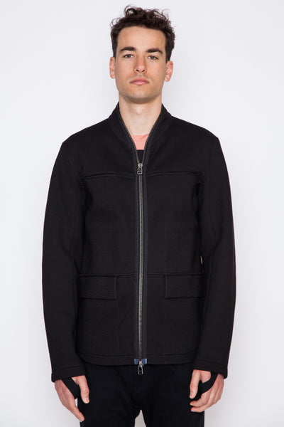Cotton Scuba Field Jacket