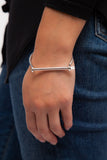 Sterling Silver Thin Screw Cuff
