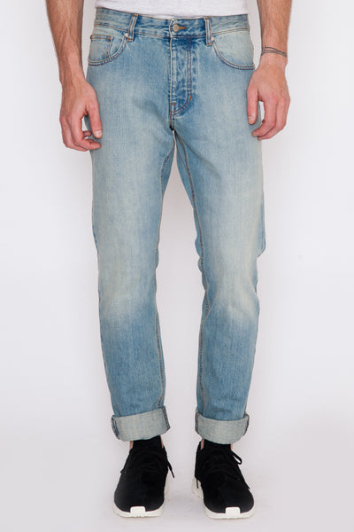 Washed Indigo Ami Fit Jean
