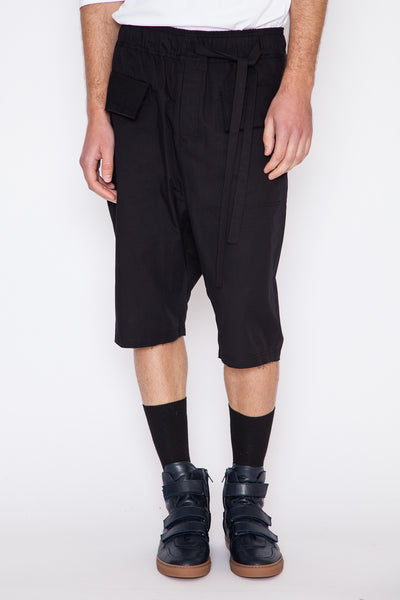 Prys Offset Drawstring Short