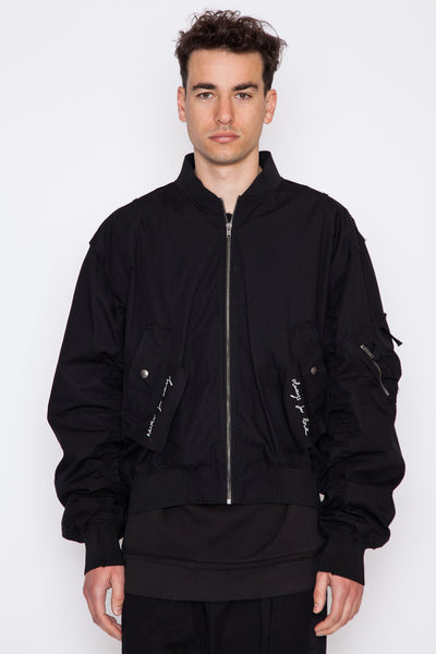 Jon Embroidered Bomber