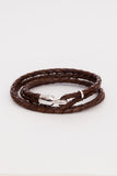 Brown/Sterling Trice Bracelet