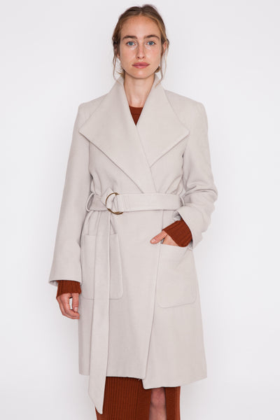 Crystal Grey Dalila Trench