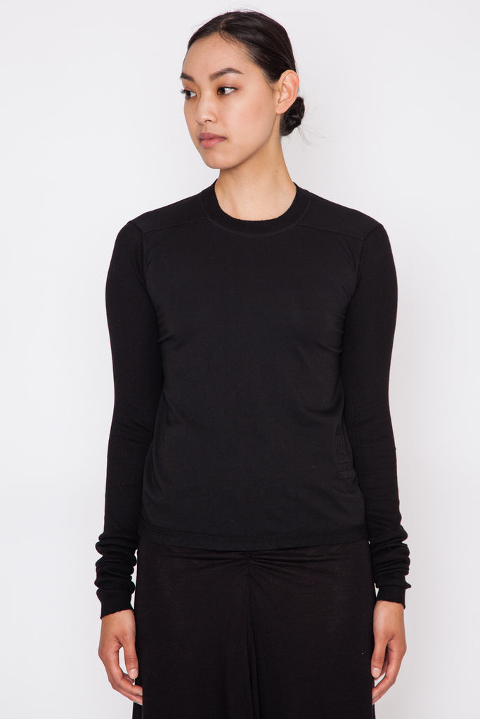 Black Small Level L/S Tee