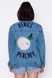 Venice Peaches Oversized Jacket