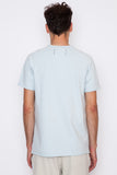 Sky Blue Lightweight Terry S/S Crew