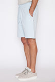 Sky Blue Lightweight Terry Raw Edge Short