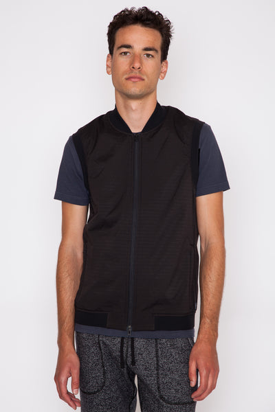Black Honeycomb Vest