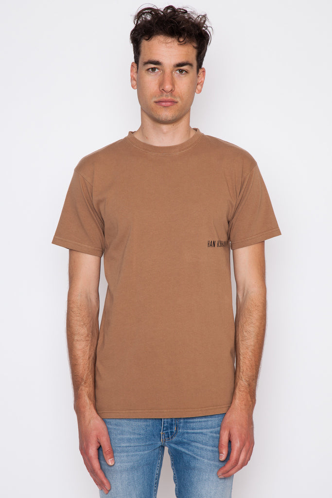 Brown Casual T-Shirt