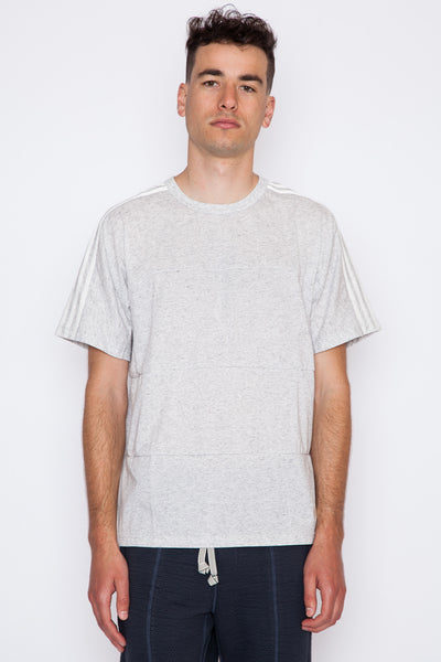 Off White Paneled Tee