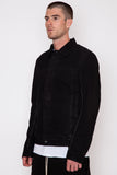 Black Matte Worker Jacket