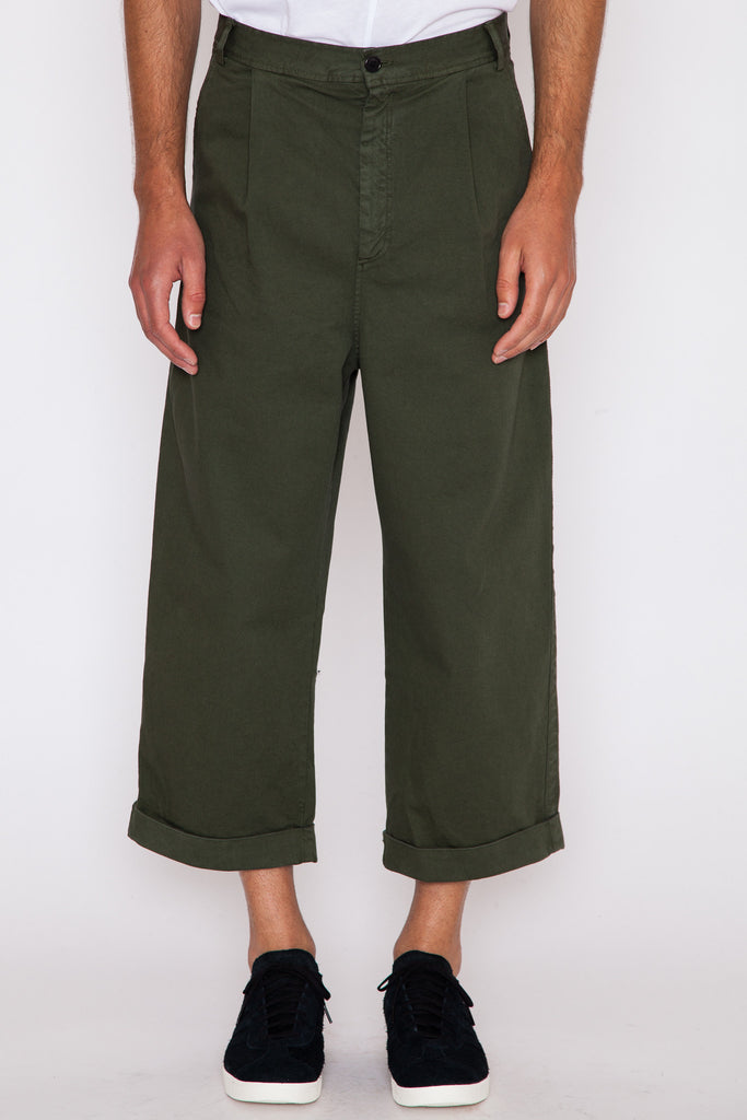Ole Green Say Cotton Pant