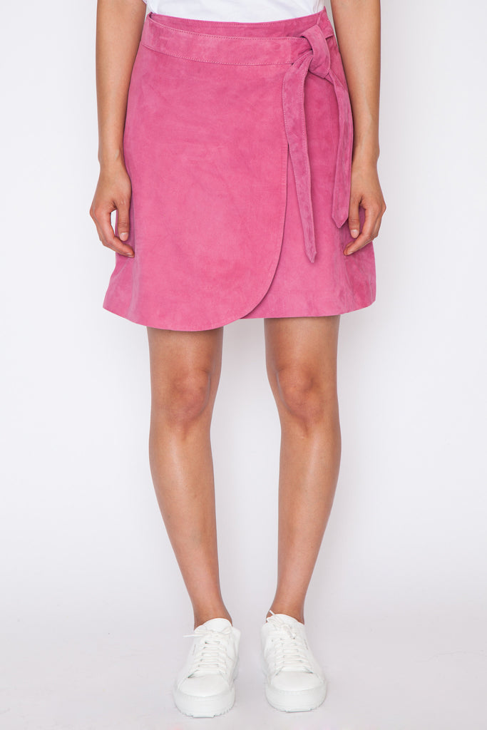 Coach Suede Skirt