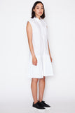 Rabi Pleated Shirt Dress