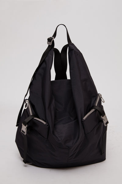 Jet Black Medium Ganges Rucksack