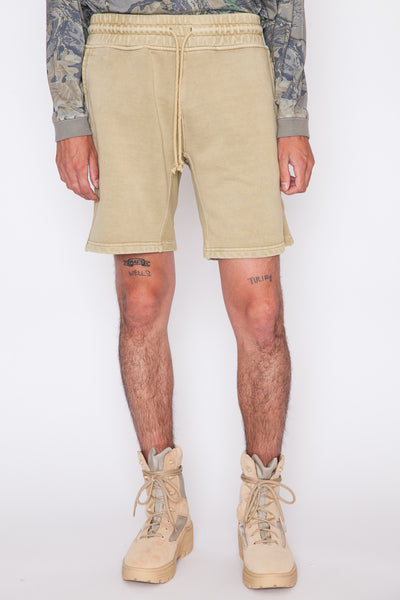 Paneled Sweatshort