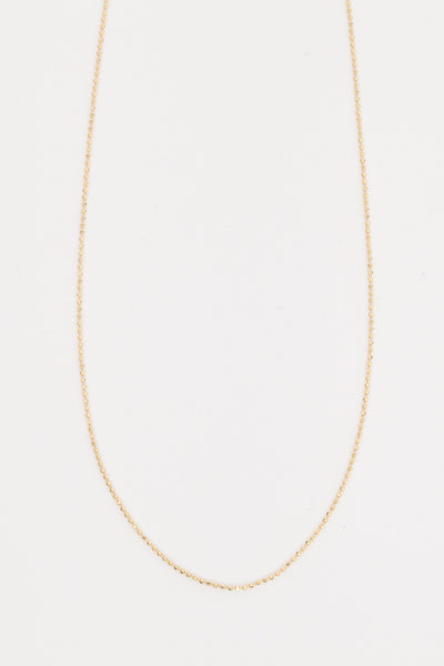 Bead Chain Choker Necklace