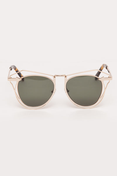 Gold/Tortoise Marguerite Sunglasses
