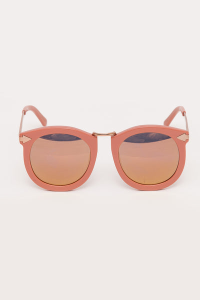 Rose Pink Super Lunar Sunglasses