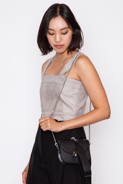 Black Mini Saddle Bag