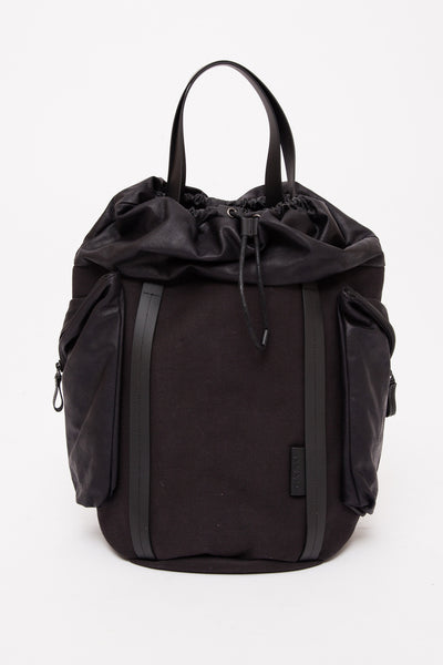 Jasper Black Medium Saar Rucksack