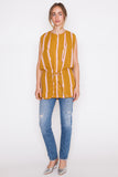 Striped Allen Top