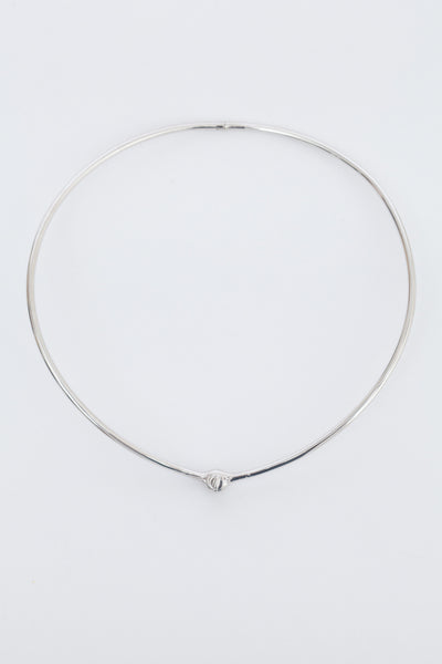 Sterling Silver Thin Reeve Choker