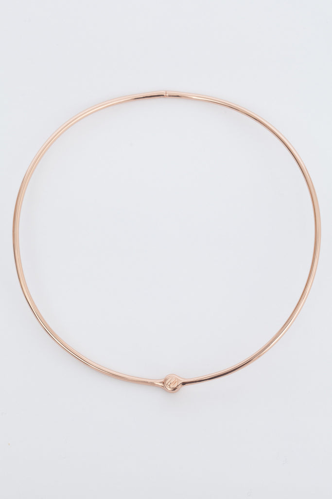 Rose Gold Thin Reeve Choker