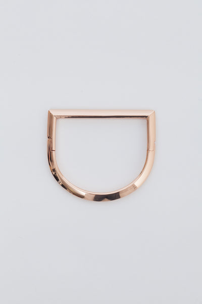Rose Gold Bar Cuff
