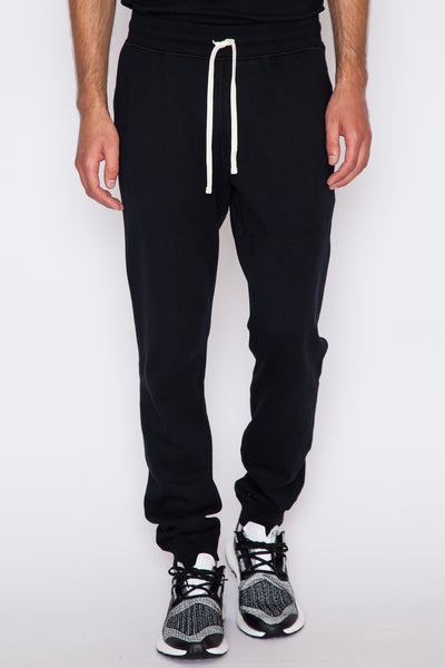 Black Core Slim Sweatpant