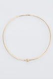 Gold Thin Reeve Choker