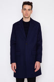 Half Lined Two-Button Coat