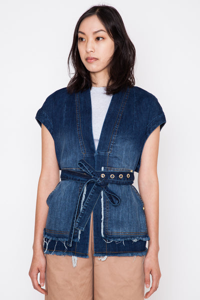 Barb Denim Vest