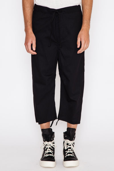 Claude Pinstripe Cropped Pant