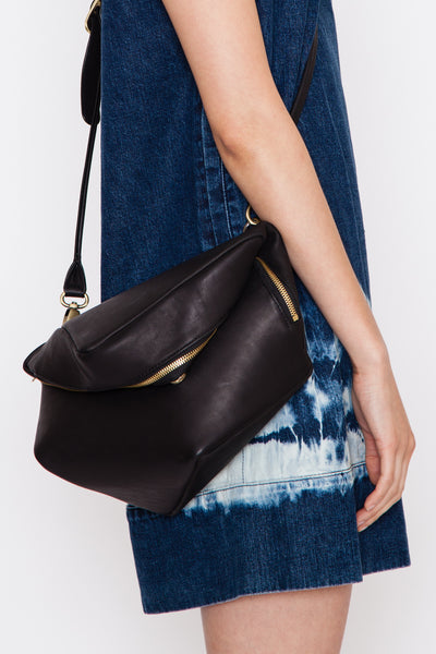 Agate Black Aude Crossbody